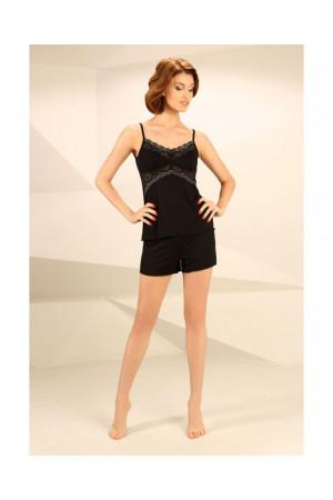 Піжама П-М-45 чорного кольору