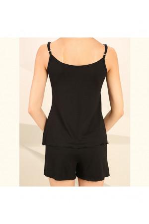 Пижама П-М-45 черного цвета