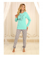 Пижама П-М-58 мятного цвета
