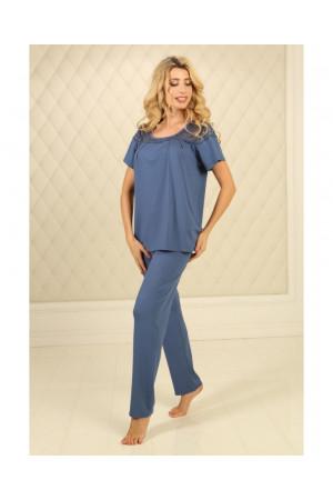 Піжама П-М-59 кольору джинс