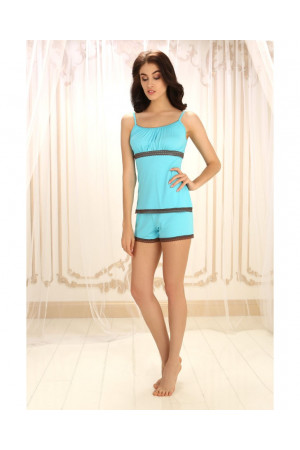 Пижама П-М-5 голубого цвета
