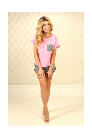 Піжама П-М-75 рожевого кольору