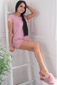 Пижама «Орейя» розового цвета
