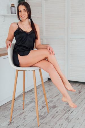 Пижама «Лора» черного цвета
