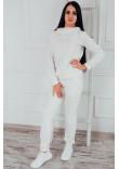 Домашній костюм «Дарен» білого кольору