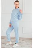 Домашній костюм «Брайді» блакитного кольору