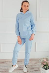 Домашній костюм «Аліка» блакитного кольору