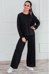 Домашній костюм «Фріза» чорного кольору