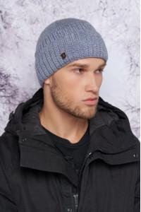 Чоловіча шапка «Райян»  кольору маренго