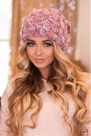 Шапка-колпак «Карелия» цвета фламинго