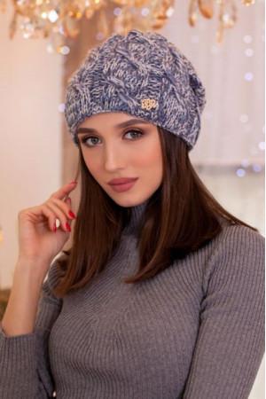 Шапка-колпак «Карелия» лазурного цвета