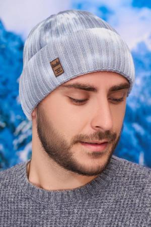 Чоловіча шапка «Камет» сірого кольору