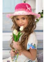 Дитячий капелюх «С'юзі» малинового кольору
