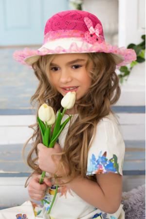 Детская шляпа «Сьюзи» малинового цвета