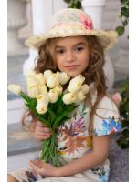 Дитячий капелюх «С'юзі» бежевого кольору