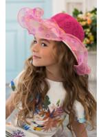 Детская шляпа «Софи» малинового цвета