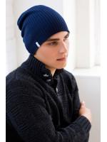 Мужская шапка «Либерти» цвета джинс