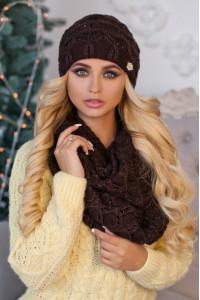 Комплект «Леруа» коричневого кольору