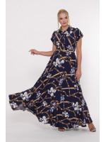 Платье «Алена» синего цвета