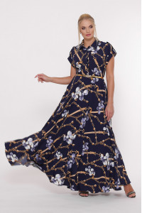 Сукня «Альона» синього кольору