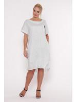 Платье «Бриджит» белого цвета