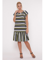 Платье «Яна» оливкового цвета