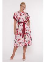 Платье «Ирина» цвета пудры