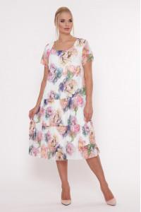 Платье «Катаисс» белого цвета