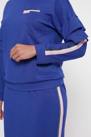 Костюм «Даяна» синего цвета