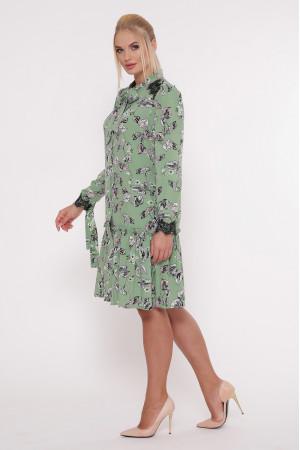 Платье «Лея» мятного цвета