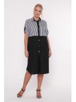 Сукня «Лана» чорного кольору