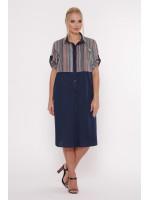 Сукня «Лана» темно-синього кольору