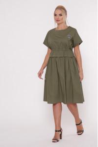 Сукня «Мелісса» оливкового кольору