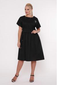 Сукня «Мелісса» чорного кольору