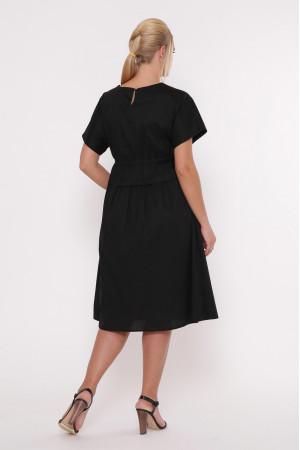 Платье «Мелисса» черного цвета