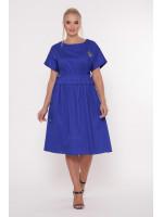 Платье «Мелисса» ярко-синего цвета