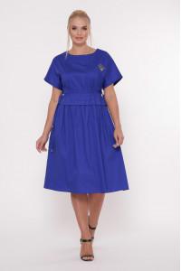Сукня «Мелісса» яскраво-синього кольору