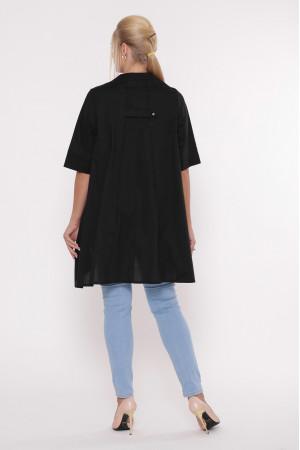 Блуза «Уля» чорного кольору