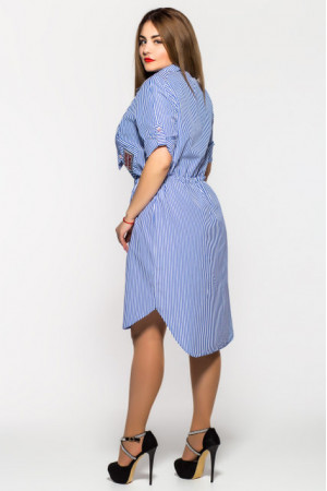 Платье «Ассоль» голубого цвета