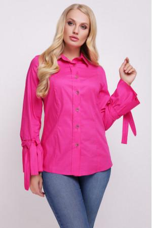 Блуза «Агата» малинового цвета