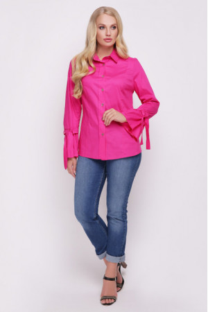 Блуза «Агата» малинового кольору