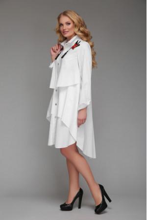 Платье «Троя» белого цвета