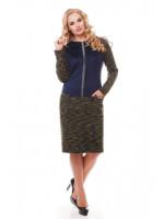 Сукня «Кеті» оливкового кольору