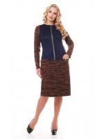Сукня «Кеті» коричневого кольору