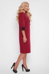 Сукня «Аманда» бордового кольору