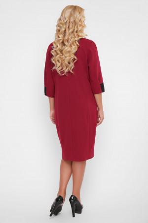 Платье «Аманда» бордового цвета