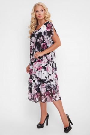 Платье «Катаисс» с цветочным принтом