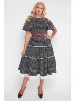 Платье «Таяна» с геометрическим принтом