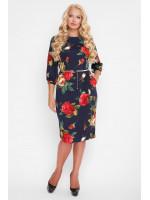 Платье «Кэйт» с цветочным принтом