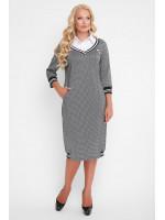 Платье «Эка» серого цвета